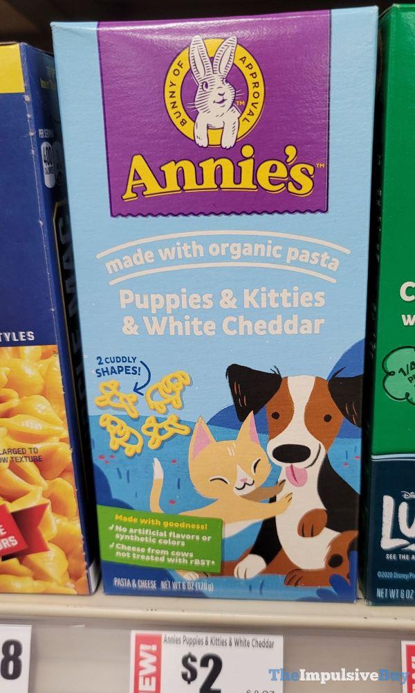 Annie s Puppies  Kitties  White Cheddar