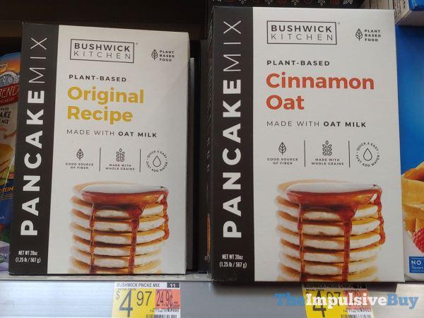 Bushwick Kitchen Plant Based Pancake Mixes  Original and Cinnamon Oat