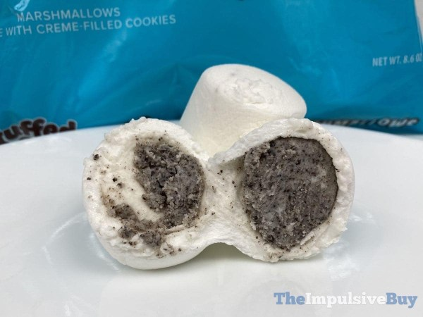 Cookies  n Creme Stuffed Puffs Split