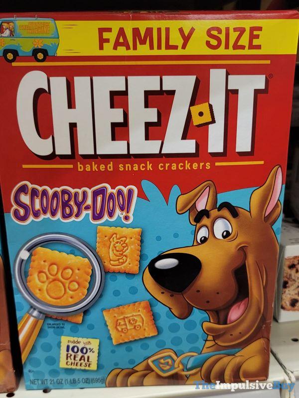 Cheez It Scooby Doo Crackers