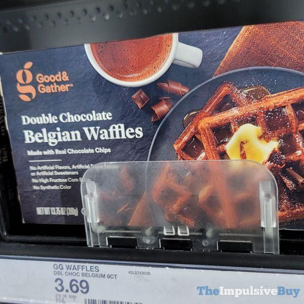 Good  Gather Double Chocolate Belgian Waffles
