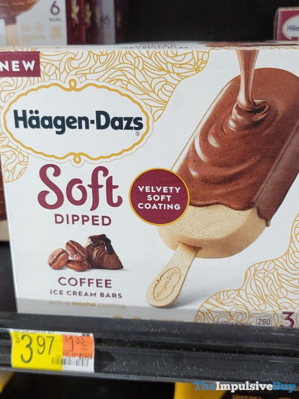 Haagen Dazs Soft Dipped Coffee Ice Cream Bars