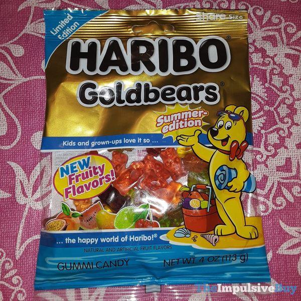 Limited Edition Haribo Goldbears Summer Edition Front