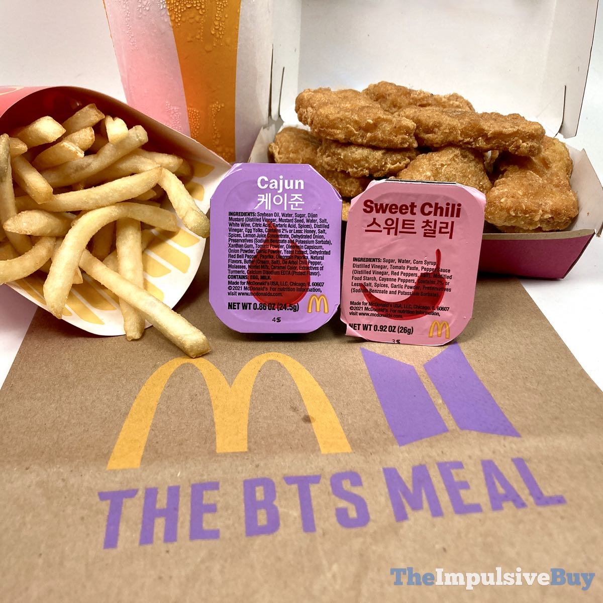 Awesome Bts Meal Menu Sauce wallpapers to download for free greenvirals