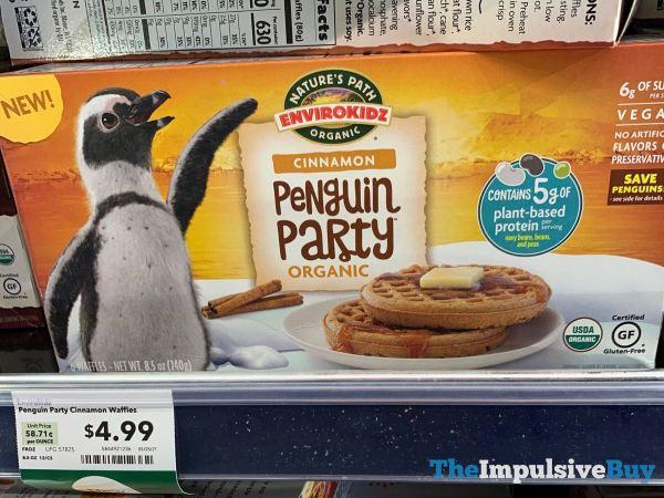 Nature s Path Envirokidz Cinnamon Penguin Party Waffles