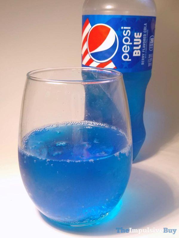 Pepsi Blue 2021 Glass