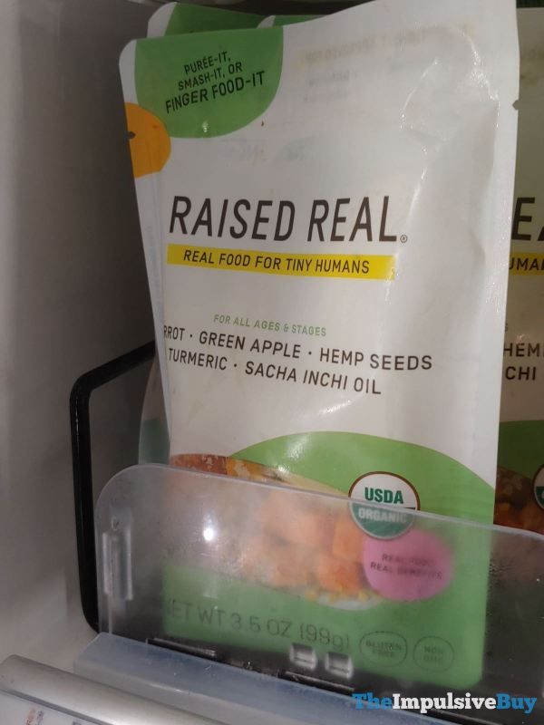 Raised Real Carrot Green Apple Hemp Seeds Turmeric Sacha Inshi Oil