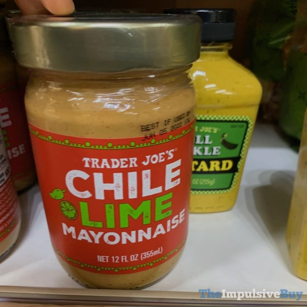 Trader Joe s Chile Lime Mayonnaise