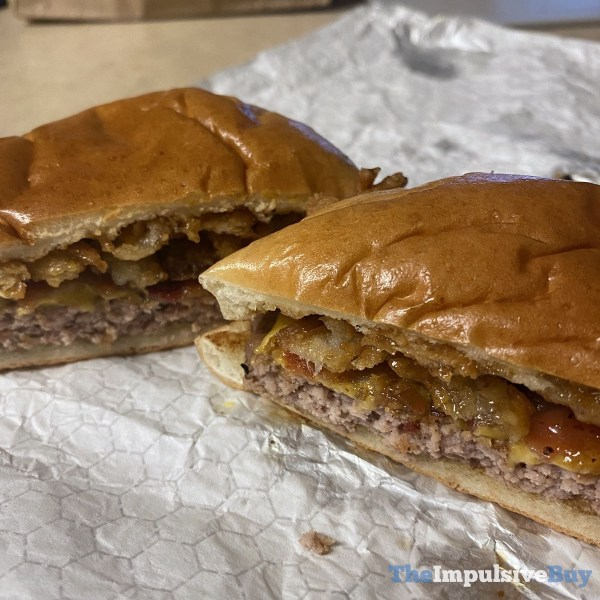 Wendy s Bourbon Bacon Cheeseburger Split