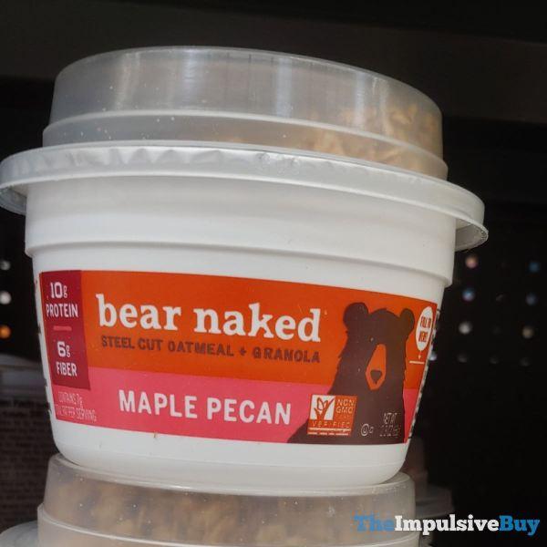 Bear Naked Maple Pecan Steel Cut Oatmeal + Granola