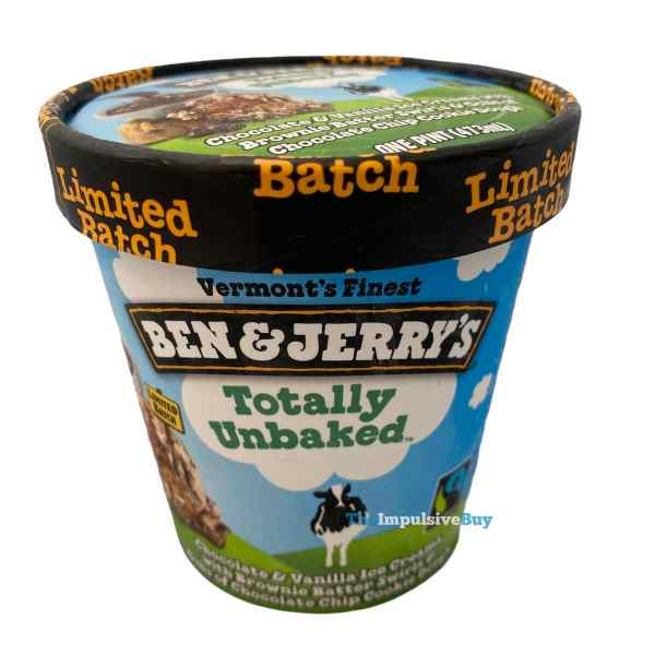 Ben  Jerry s Limited Batch Totally Unbaked Pint