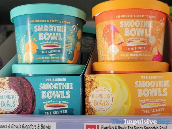 Blenders  Bowls Smoothie Bowls  The Sesher and The Sunny