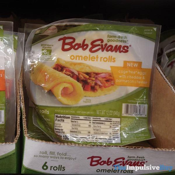 Bob Evans Cheddar  Parmesan Cheese Omelet Rolls