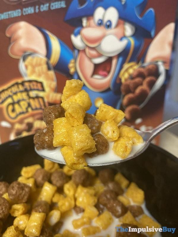 Cap n Crunch s Chocolate Caramel Crunch Cereal Spoon