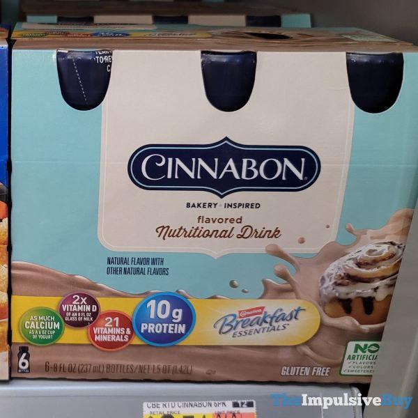 Carnation Breakfast Essentials Cinnabon Nutritional Drink