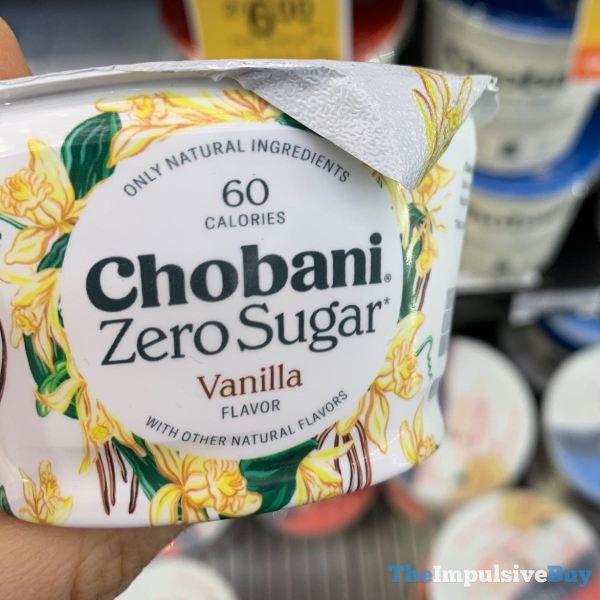 Chobani Zero Sugar Vanilla