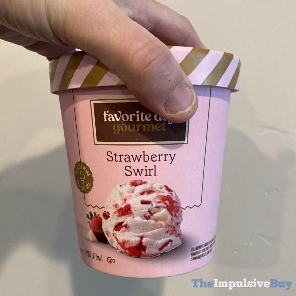 Favorite Day Gourmet Strawberry Swirl Ice Cream