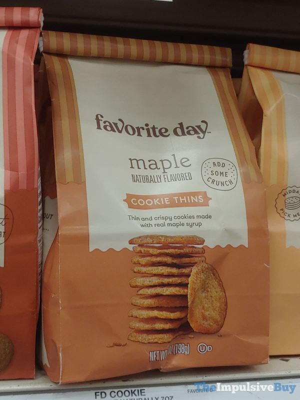 Favorite Day Maple Cookie Thins