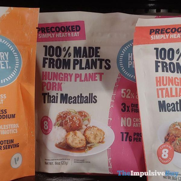 Hungry Planet Pork Thai Meatballs