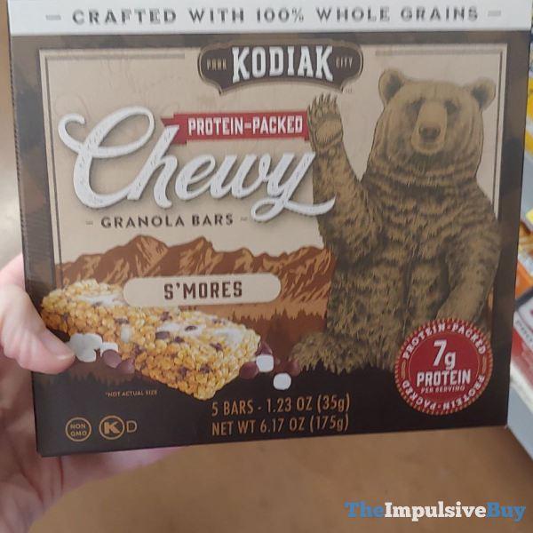 Kodiak S mores Chewy Granola Bars