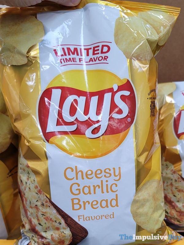 Lay s Cheesy Garlic Bread Potato Chips  2021