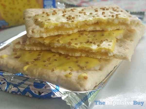 Lemon Creme Pie Pop Tarts Split