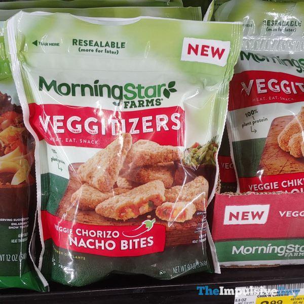 Morningstar Farms Veggitizers Veggie Chorizo Nacho Bites