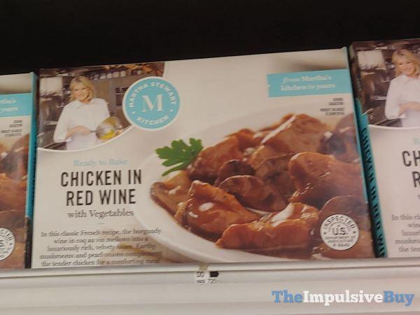 Martha Stewart Kitchens Chicken in Red Wine