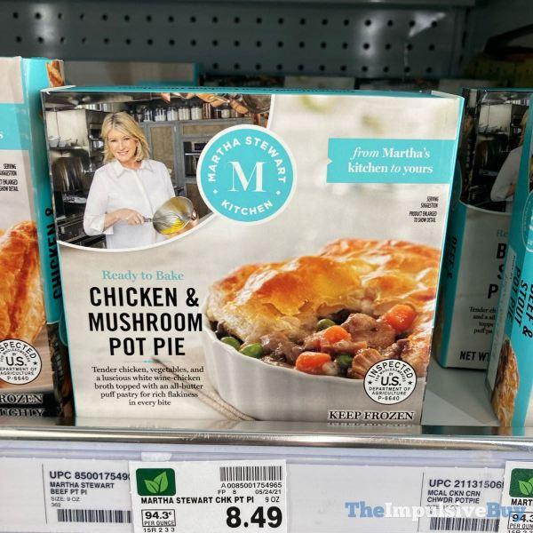Martha Stewart Kitchen Chicken  Mushroom Pot Pie