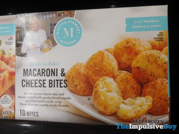 Martha Stewart Kitchen Macaroni  Cheese Bites