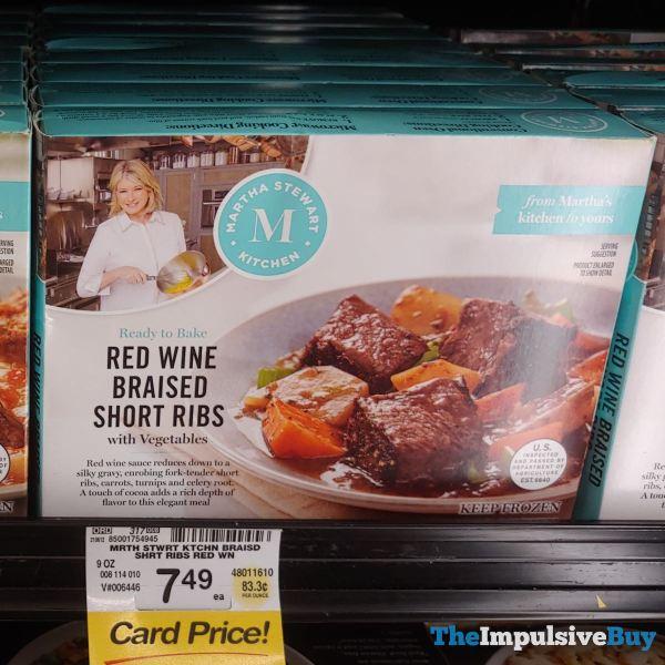 Martha Stewart Kitchens Red Wine Braised Short Ribs