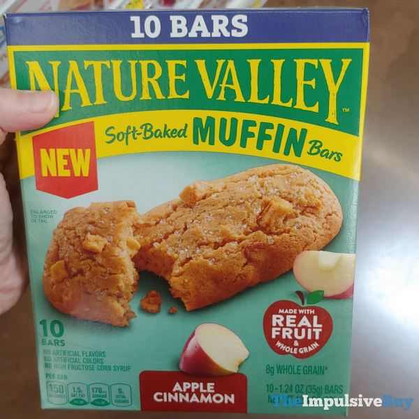Nature Valley Apple Cinnamon Soft Baked Muffin Bars