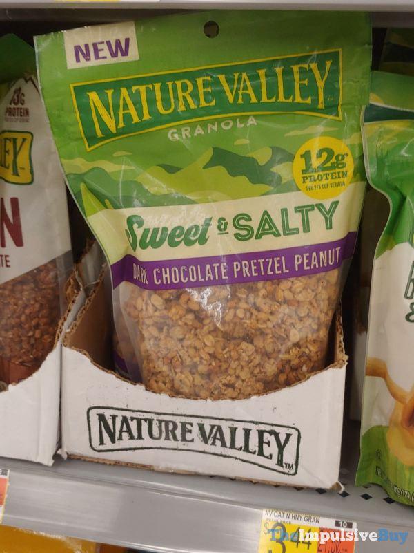 Nature Valley Granola Sweet  Salty Dark Chocolate Pretzel Peanut