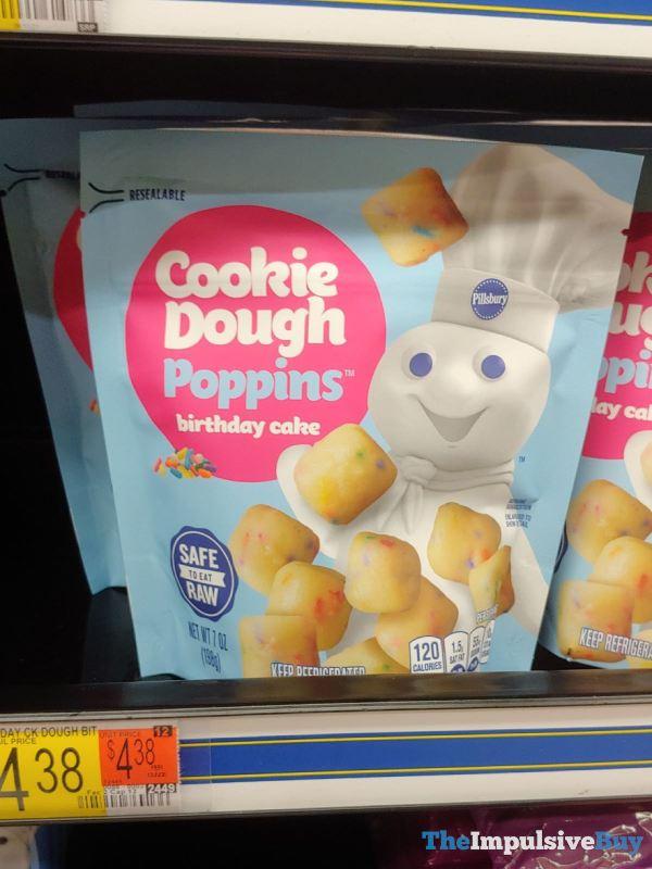 Pillsbury Cookie Dough Poppins Birthday Cake