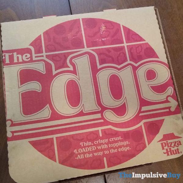 PIzza Hut The Edge Pizza Box