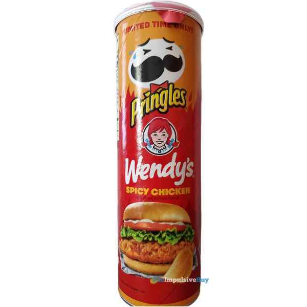 Wendy s Spicy Chicken Pringles Can