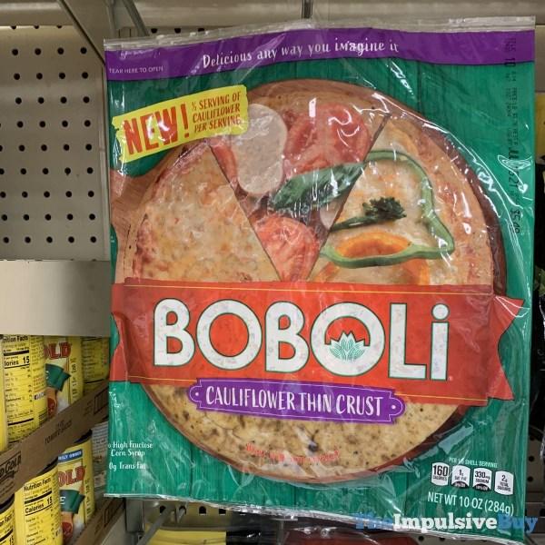 Boboli Cauliflower Thin Crust