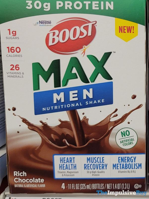 Boost Max Men Rich Chocolate Nutritional Shake