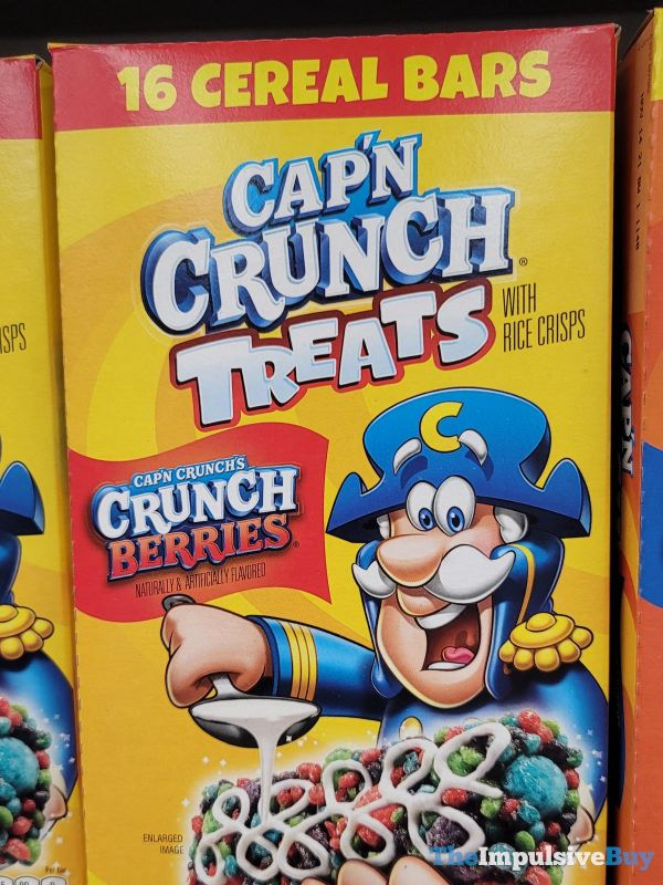 Cap n Crunch Treats Cap n Crunch s Crunch Berries
