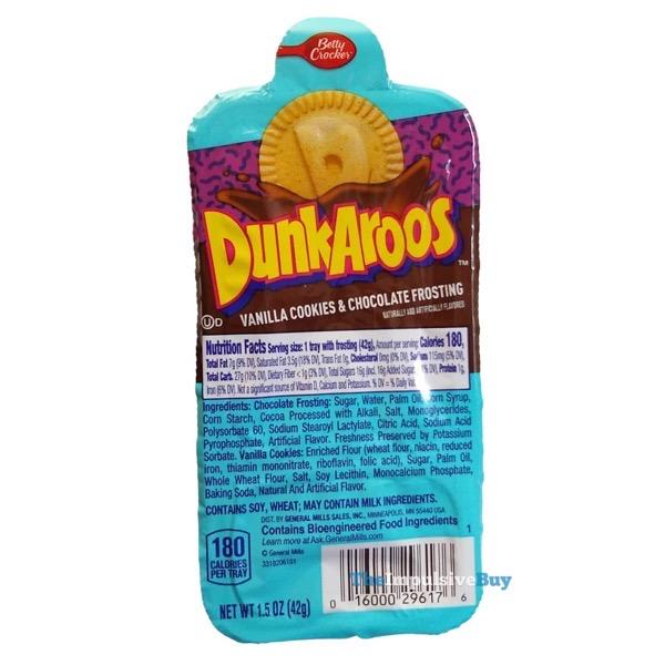 Chocolate Dunkaroos 2021 Tray