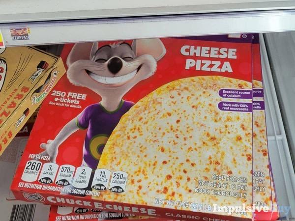 Chuck E Cheese Cheese PIzza