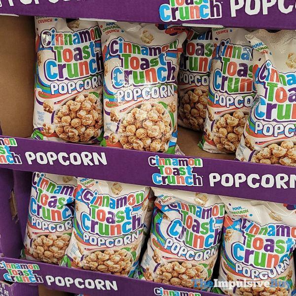 Cinnamon Toast Crunch Popcorn Display