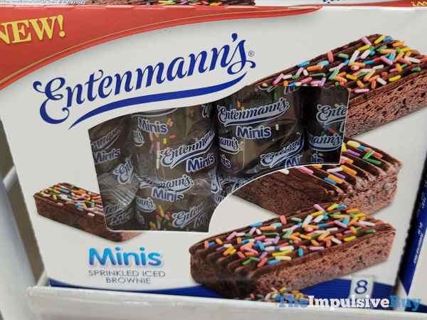 Entenmann s Minis Sprinkled Iced Brownie