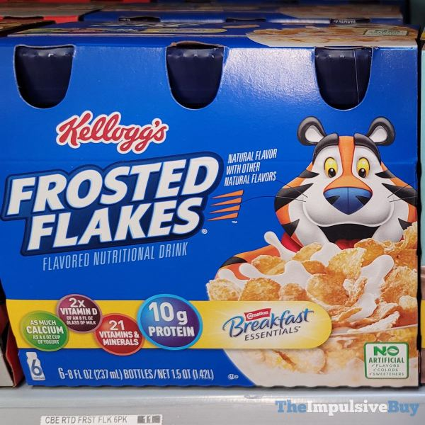 Carnation Breakfast Essentials Kellogg s Frosted Flakes Nutritional Drink