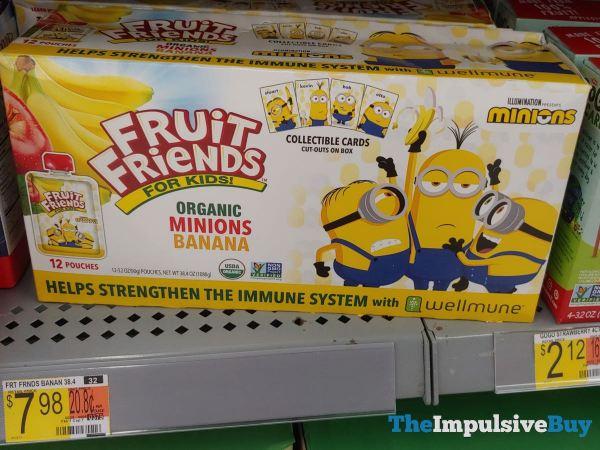 Fruit Friends for Kids Organic Minions Banana