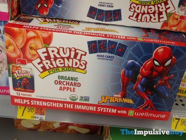 Fruit Friends for Kids Marvel Spider Man Organic Orchard Apple