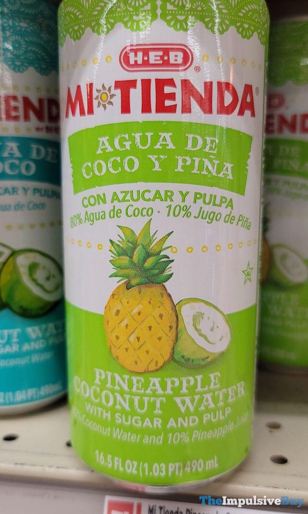 H E B Mi Tienda Pineapple Coconut Water