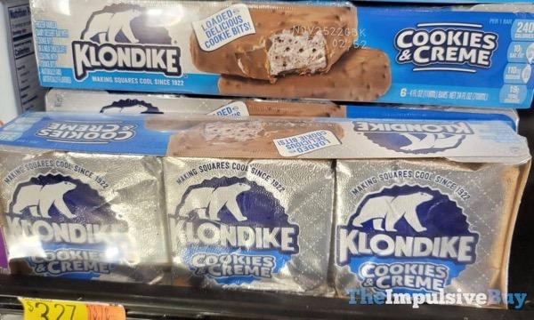 Klondike Cookie  Creme Bars