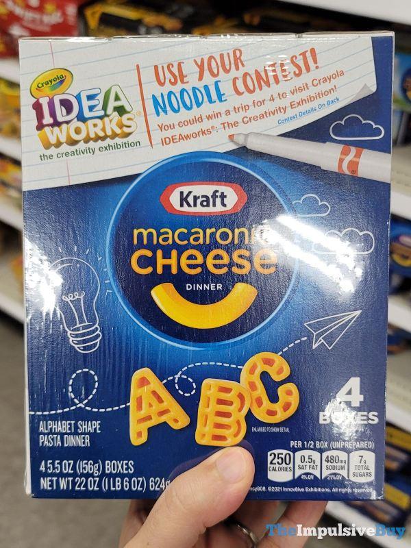 Kraft Crayola Idea Works Macaroni  Cheese Dinner