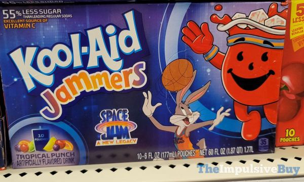 Kool Aid Jammers Space Jam A New Legacy Tropical Punch